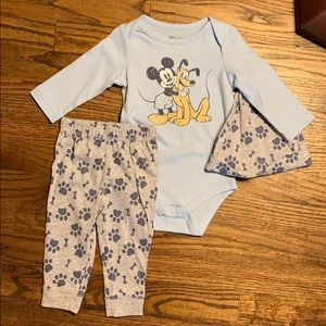 Disney Matching Sets - 6m boy bundle